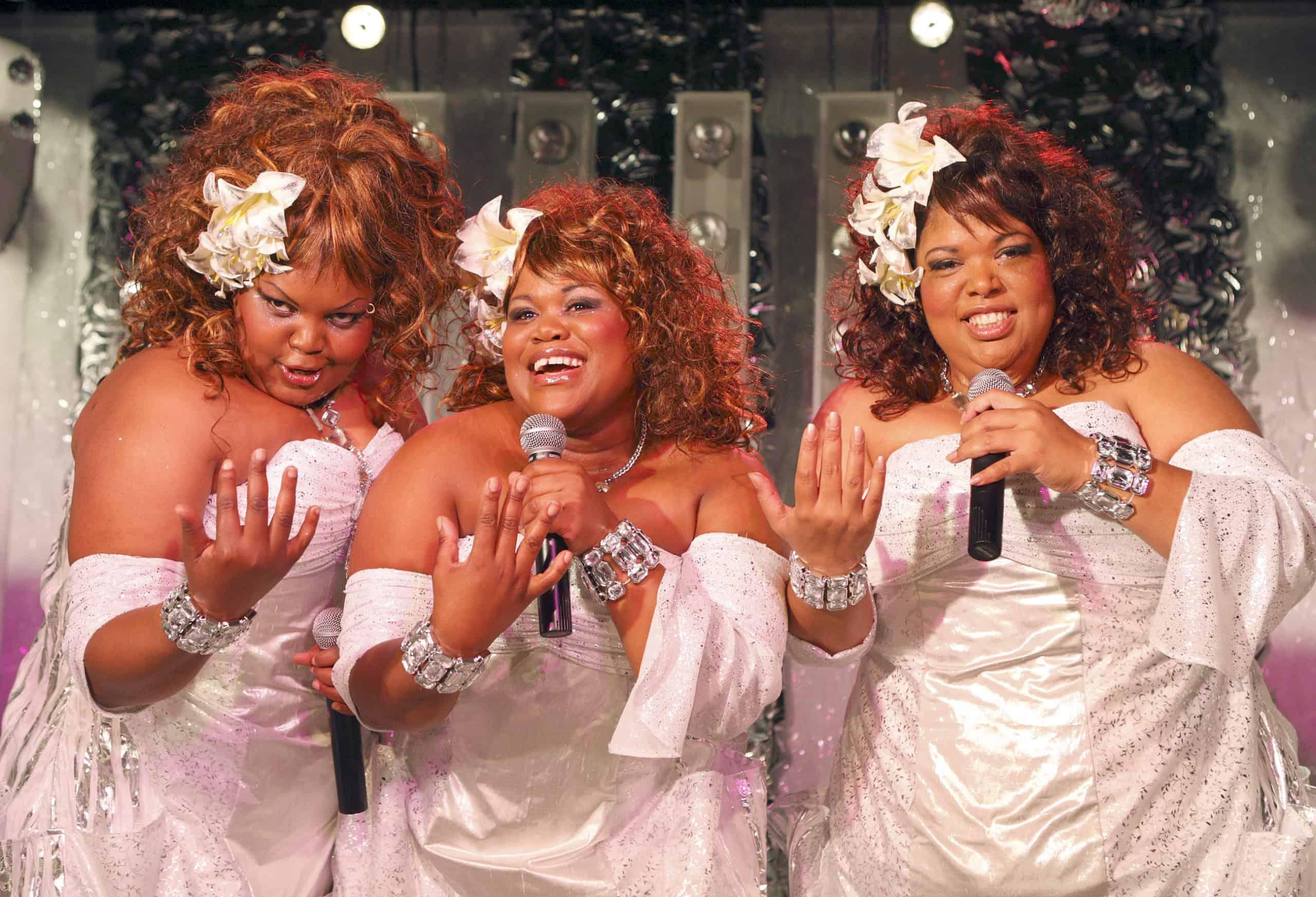 Three ladies performing at the Caledon Casino