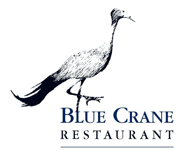 Blue Crane restaurant logo