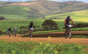 Bikers at the MTB, The Caledon