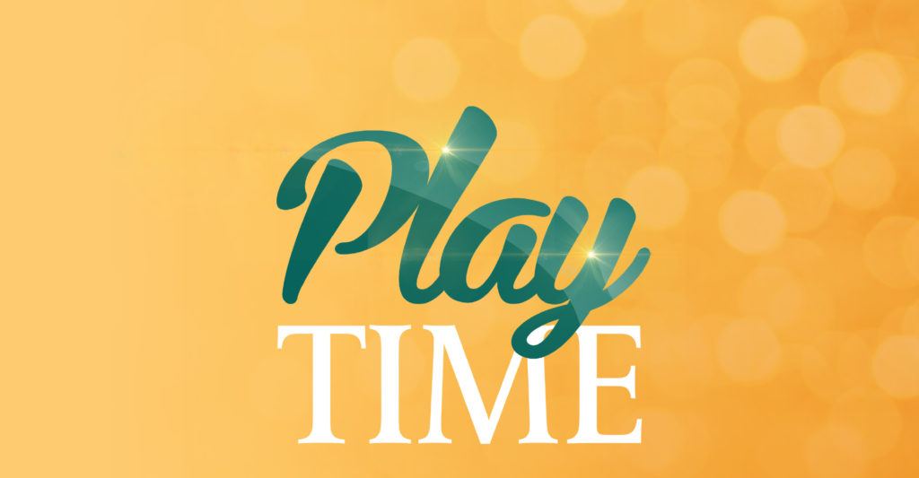 PlayTime Gaming promotion with the logo in green and white
